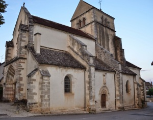 14th Century Church in Volnay