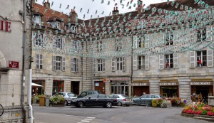 Arbois town square