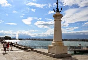 The lake from Geneva