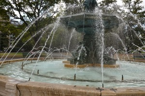 Fountain in Geneva