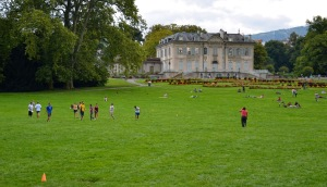 Ultimate Frisbee--Swiss style